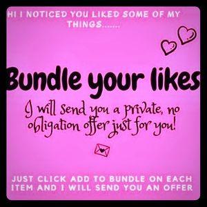 💜  BUNDLE YOUR LIKES! 💜